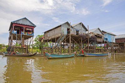 Kambodscha Individualreise - Stelzenhaeuser - Kambodscha