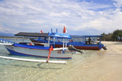Boote - Gili Islands - Indonesien