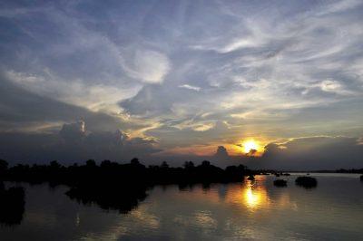 Insel im Mekong - Laos