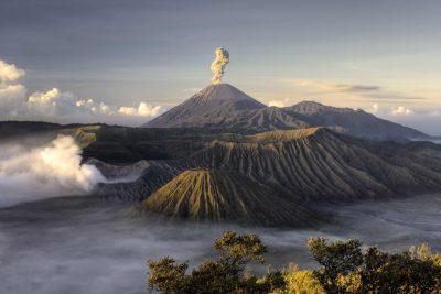 Rauch Vulkan Bromo - Insel Java - Indonesien