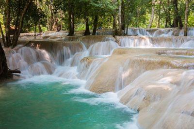 Laos Rundreise - Wasserfall Tad Sae - Luang Prabang