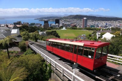 Cable Car - Wellington - Neuseeland