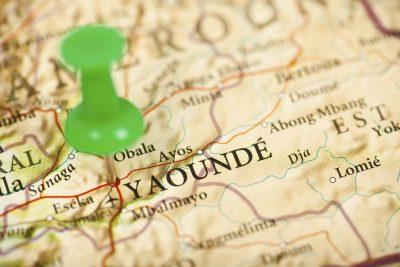 Kamerun Reise -Karte - Yaounde - Kamerun