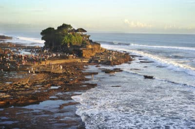 Indonesien Bali Sulawesi Rundreise -Indonesien Individuell - Meerestempel - Tannah Lot - Bali Indonesien