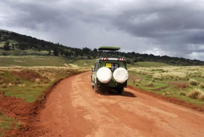 Safari Fahrzeug - Nationalpark - Tansania
