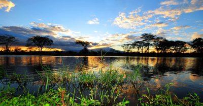 Tansania Safari -Sonnenuntergang - Lake Eyasi - Tansania