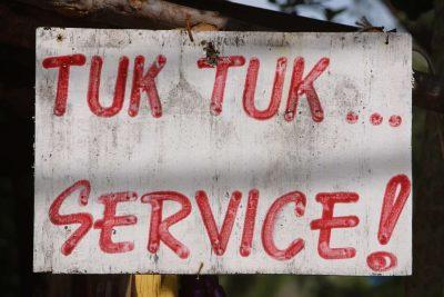 Kambodscha Individualreise -Tuk Tuk Service - Siem Reap - Kambodscha