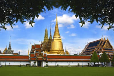 Thailand Erlebnisreise -Wat Phra Kaeo - Bangkok - Thailand