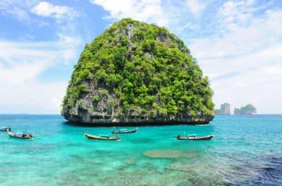 unbewohnte Insel - bei Krabi - Thailand