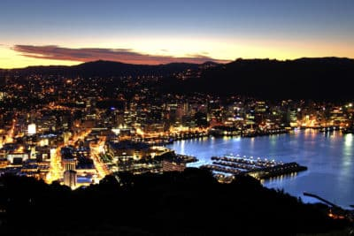 Nacht in Wellington
