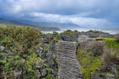 Punakaki Rocks Pancake Rocks - Südinsel - Neuseeland.