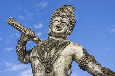 Statue - Buddha Park bei Vientiane - Laos