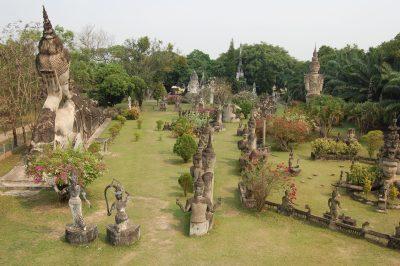 Laos Gruppenreise -Buddha Park Xieng Khuan - Vientiane - Laos