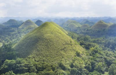 Chocolate Hills - Insel Bohol - Philippinen