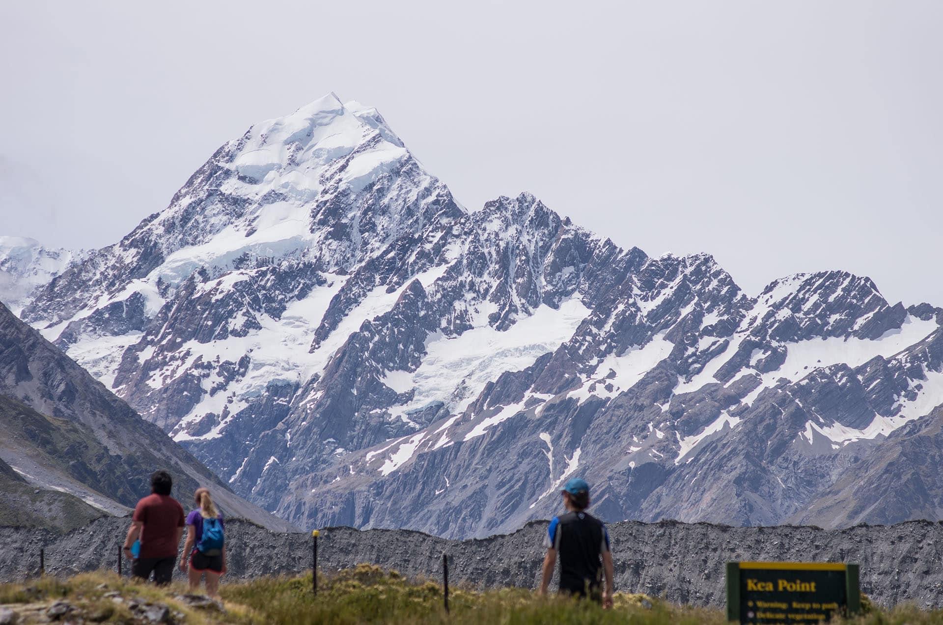 Neuseeland Rundreise - Mount Cook