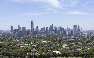 Skyline in Manila - Philippinen