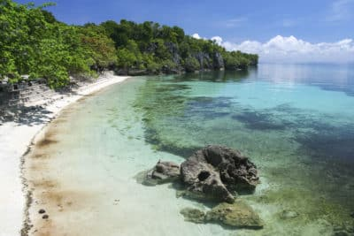 Strand - Siquijor Insel - Philippinen