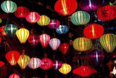 bunte Laternen - Hoi An - Reisen in Vietnam