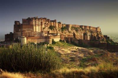 Mehrangarh Fort - Rajasthan - Indien