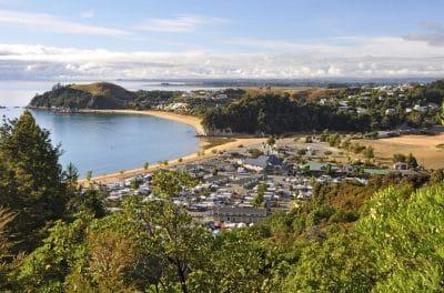 Kaiteriteri - Strand Bucht Neuseeland