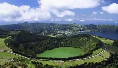 Lagoa de Santiago - Sao Miguel - Azoren - Portugal