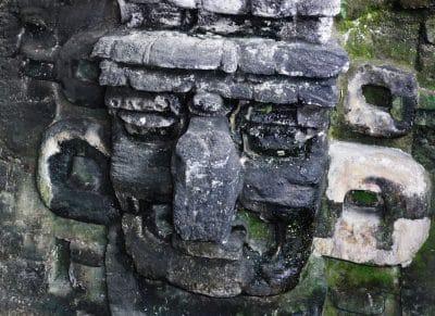 Maya Relikt - Tikal - Guatemala
