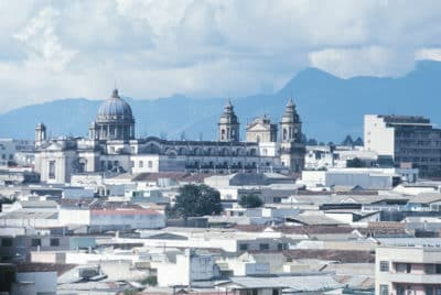 Stadtpanorama - Guatemala City - Guatemala