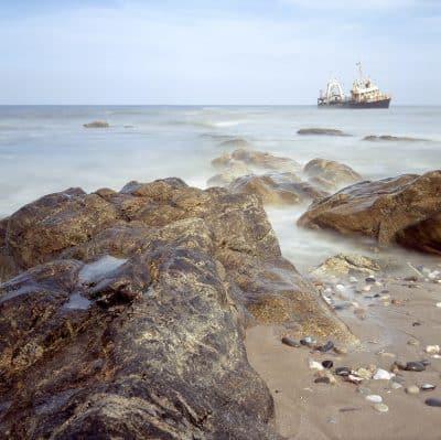 Schiffswrack - Skelettkueste - Namibia