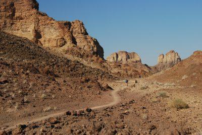 Wanderweg im Fish River Canyon