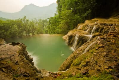 Kuang Si Wasserfall - Bei Luang Prabang - laos